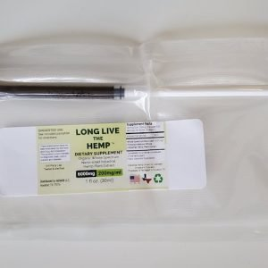 Packaging picture of 1 ML syringe of 200MG Dutch Nutrient Nano-Sized Hemp Extract