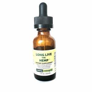 30 ML bottle of 6000MG Dutch Nutrient Nano-Sized Hemp Extract